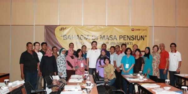 Pra Pension Training Program in CIMB Niaga